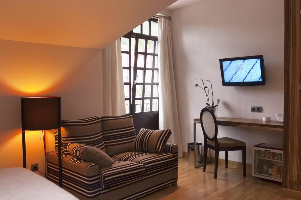 09 Habitación ANTIGUO CASINO Hotel Boutique con Encanto Pravia Asturias